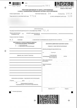 Декларация по УСН доходы для ИП