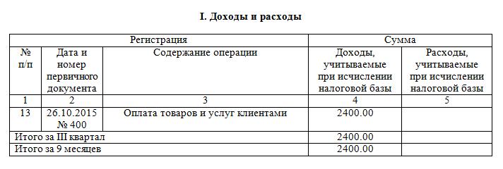 Наложенный платеж в КУДИР